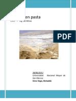 (Relleno en Pasta - UNMSM)    Lima -Perú
