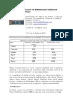 F Informes de Hablemos Press en Junio Del 2011