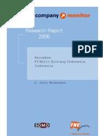 FNV Company Monitor; Heineken Indonesia