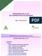 Novedades de la Ley de Cooperativas de Asturias