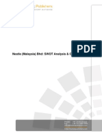 Nestle Malaysia Bhd Swot Analysis n Company Profile