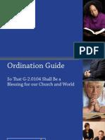 Ordination Guide for Amendment 10-A