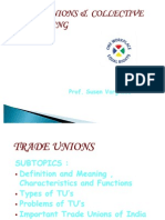 Trade Unions & Collective Bargaining-pharma & Bbm