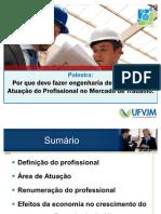 Palestra 2 - Engenharia de Alimetos - Mercado de Trabalho