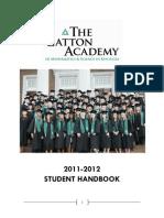 Gatton Academy Handbook 2011-2012