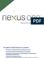 Manual Google Nexus One Romana