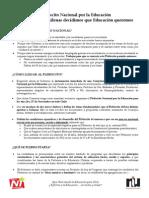 Ppta Plebiscito Nacional Por La Educacion CHILE
