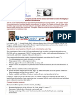 11-07-08 PRESS RELEASE Requests Filed with US Congress and US Attorney General Eric Holder to Restore the Integrity of the Electronic Record Systems of the US Courts