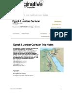 Egypt Jordan Caravan Trip