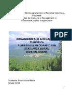 Organizarea Si Amenajarea Teritoriala a Statiunii Durau