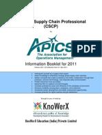 KEI APICS CSCP Information Booklet 2011.03