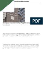Medicos Del San Borja Anuncian Nuevas Movilizaciones
