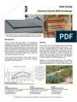 Solarwall Case Study - Sonoma County Herb Exchange - solar air heating system (process drying herbs)