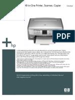 HP Photo Smart Printer Copier Manual