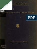 Gressmann. Das Lukasevangelium. 1919.