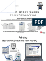 Quick Start Guide Print Scan Fax Ricoh Segments 2-6