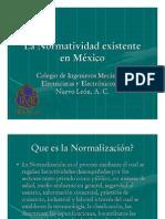 Normalizacion en Mexico