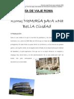 Guia Viaje Roma 2 Foro Viajes Viajerosolidario