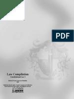 Law Compilation, Consti 1, Chapter 2 Syllabus (2011)