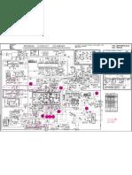 LG CF21F89 Chassis MC994A TV Circuit Diagram