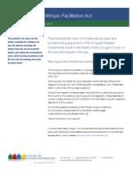 Philanthropic Facilitation Act Proposal