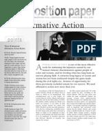 Affirmative Action99