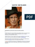 Biografia de Keith Richards