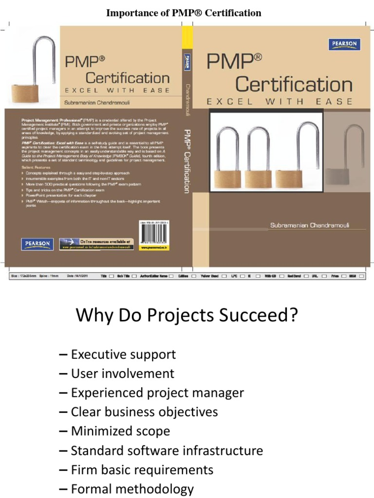 Importance Of Pmp Certification Project Management Professional