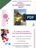 Mi Labor Como Auxiliar de Kinder