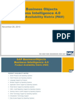 SAP Business Objects Business Intelligence 4 0 PAM v1