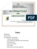 Alternativas de Ubicacion PDF