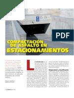 Compactacion de Asfalto en Estacionamientos