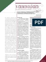 San Juan Ocariz y de La Cuesta Evaluación de las medidas en medio abierto del Plan de Justicia Juvenil de la Comunidad Autónoma del País Vasco. Boletín criminológico
