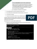 Manual de descontaminación services