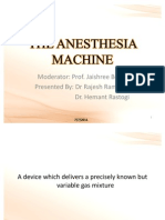 The Anesthesia Machine