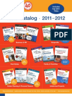 Nolo 2011-2012 Catalog