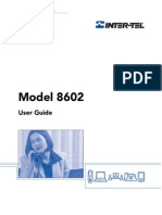 Inter-Tel Model 8602 User Guide