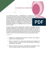 Proyecto de Analisis Agroquimico
