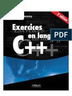 C++ Exercices corrigé