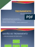GESTÃO DE TREINAMENTO