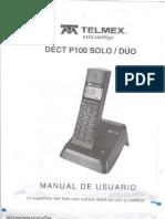 Manual Telefono Telmex P100