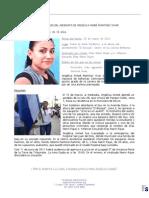 Reseña del caso Angelica Aimeé Martínez Vivar