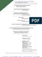 Mass DOMA Cases - DOJ Response in favor of en banc hearing