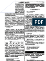 Norma Tecnica TBC Modificaciones
