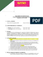 reglamento Mistura