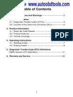 Autel MaxScan GS100 Scan Tool User Manual