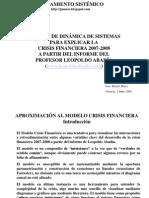 modelo crisis financiera José Monzó Marco