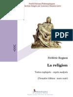 LA RELIGIÓN - Frédéric Rognon