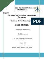 Caso Clinico Nervioso