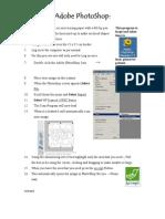 Photoshop Elements Starter Sheet